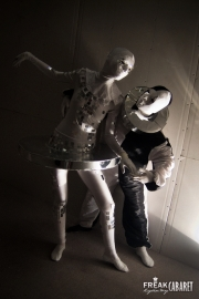 Зеркальная Балерина и Пьеро