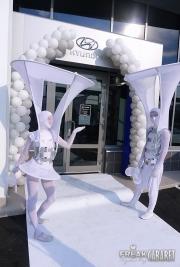 Белое Шоу: встреча гостей