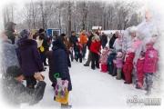 Новогоднее представление в парке